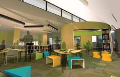 artists impression of library