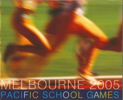 Pacific School Games 2005 logo
