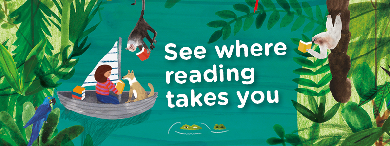 See where reading takes you