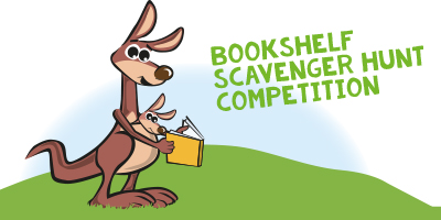 bookshelf scavengerhunt competition