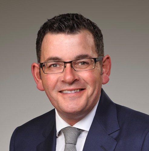 Daniel Andrews - Premier of Victoria - headshot