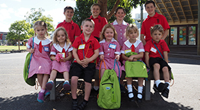 Students from St.Kilda Primary School.