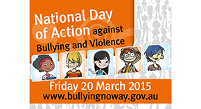 National Day of Action Against Bullying and Violence logo.