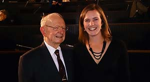 Hannah Stark and Dr Lawrie Shears.