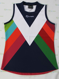 image of the finished jumper, as produced by the AFL