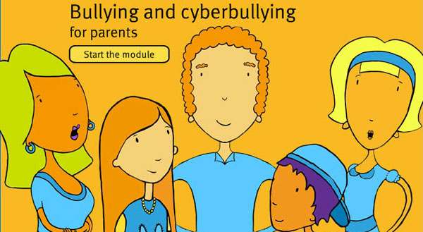Cybersafety Module for parents. Start the module.