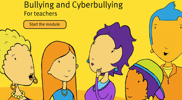 Bullying and Cyberbullying Module for teachers. Start the module.