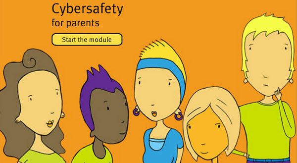 Bullying and Cyberbullying Module for parents. Start the module.