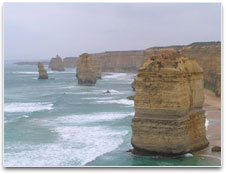 The Twelves Apostles natural rock formation