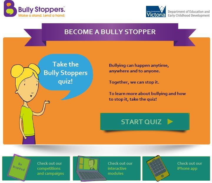 Bully Stoppers Quiz