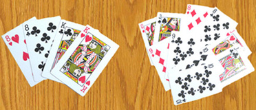 Playing cards in the classroom