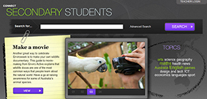 Image of FUSE secondary students page